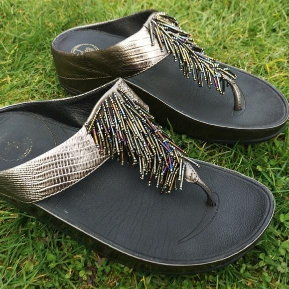 545aa2f4b9f6b FitFlop Shoes - Fit Flop Cha Cha sandals